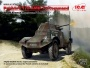 ICM 35375 [1:35]  Panhard 178 AMD-35 Command, WWII French Armoured Vehicle