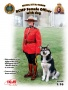 ICM16008  [1:16]  RCMP Female Officer with dog