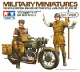 TAMIYA 35241 [1:35]  British BSA M20 Motorcycle w/Military police set